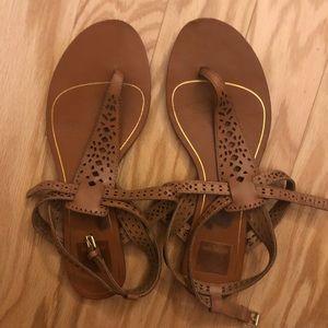 Dolce Vita strappy brown sandals